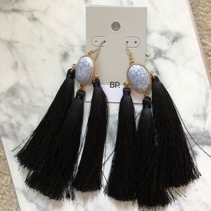 NEW Fringe Chandelier Earrings